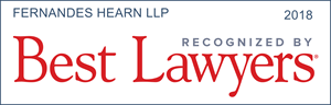 Badge for Best Lawyers award for Fernandes Hearn LLP law firm.