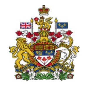 Royal banner crest.